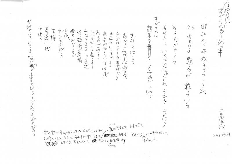 上田假奈代「はばたくすがさんのうたの本」.jpg
